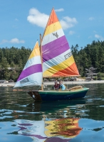 Learn to sail at the Center for Wooden Boats at Cama Beach State Park (courtesy CWB)